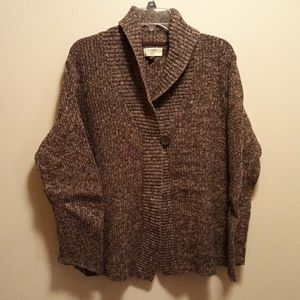 Womans Sonoma Cardigan Size 1X